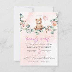 We Can Bearly Wait! Girl Baby Shower