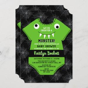 """""""We've Created A Monster"""" Halloween Baby Shower"""