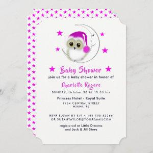 Whimsical Owl Baby Shower Cute
