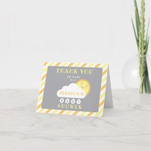 You Are My Sunshine Thank You Cards